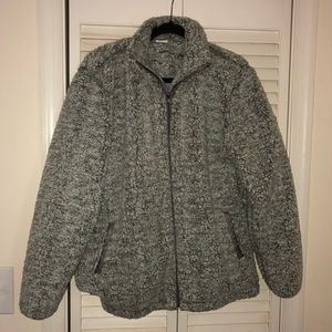 3/$20 Gray fleece jacket.